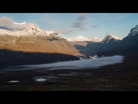 Autumn in Sarek - September Hike in Swedish Lapland