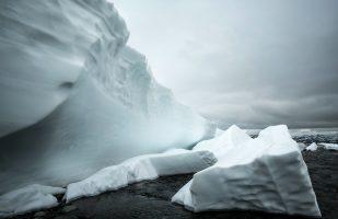 Snowfield in Čoalmmivággi