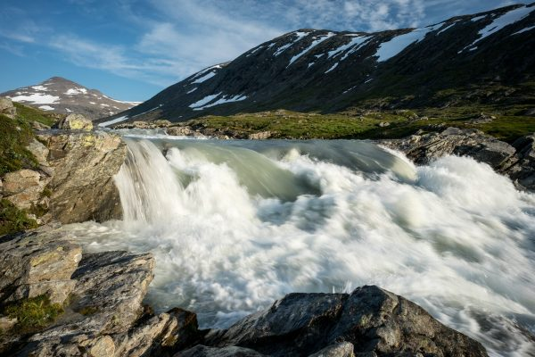 Waterfall in Glomdalen
