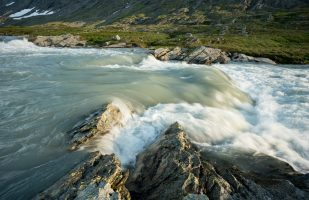 River rapids in Glomdalen