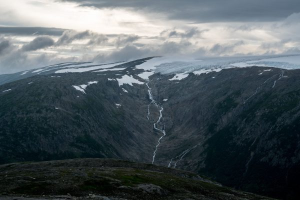 Hengfonna glacier front