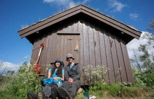 The cozy hut Bukkhaugbua