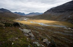 View of upper Rapadalen