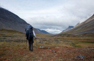 Hiking on