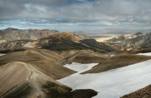 View back towards Landmannalaugar