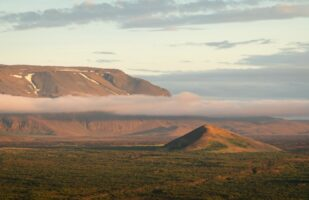 View from Hverfjall