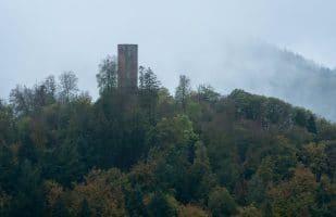 Castle ruin Scharfenberg (Closeup)