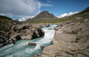 Smájllájåhkå at Skárjá and Sarek mountains