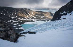 Descent towards Tarfala
