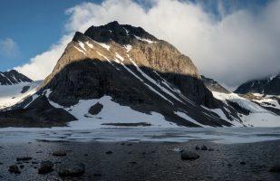 Glacier Panorama at Tarfala