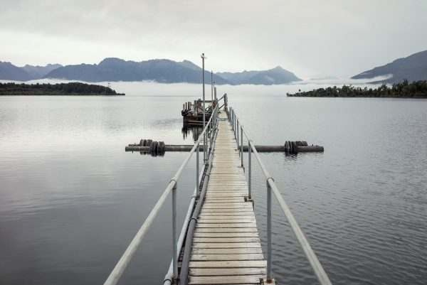 Pier in Te Anau