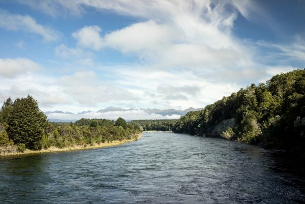 Waiau River from bridge
