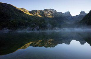 Morning view of Lake Mackenzie