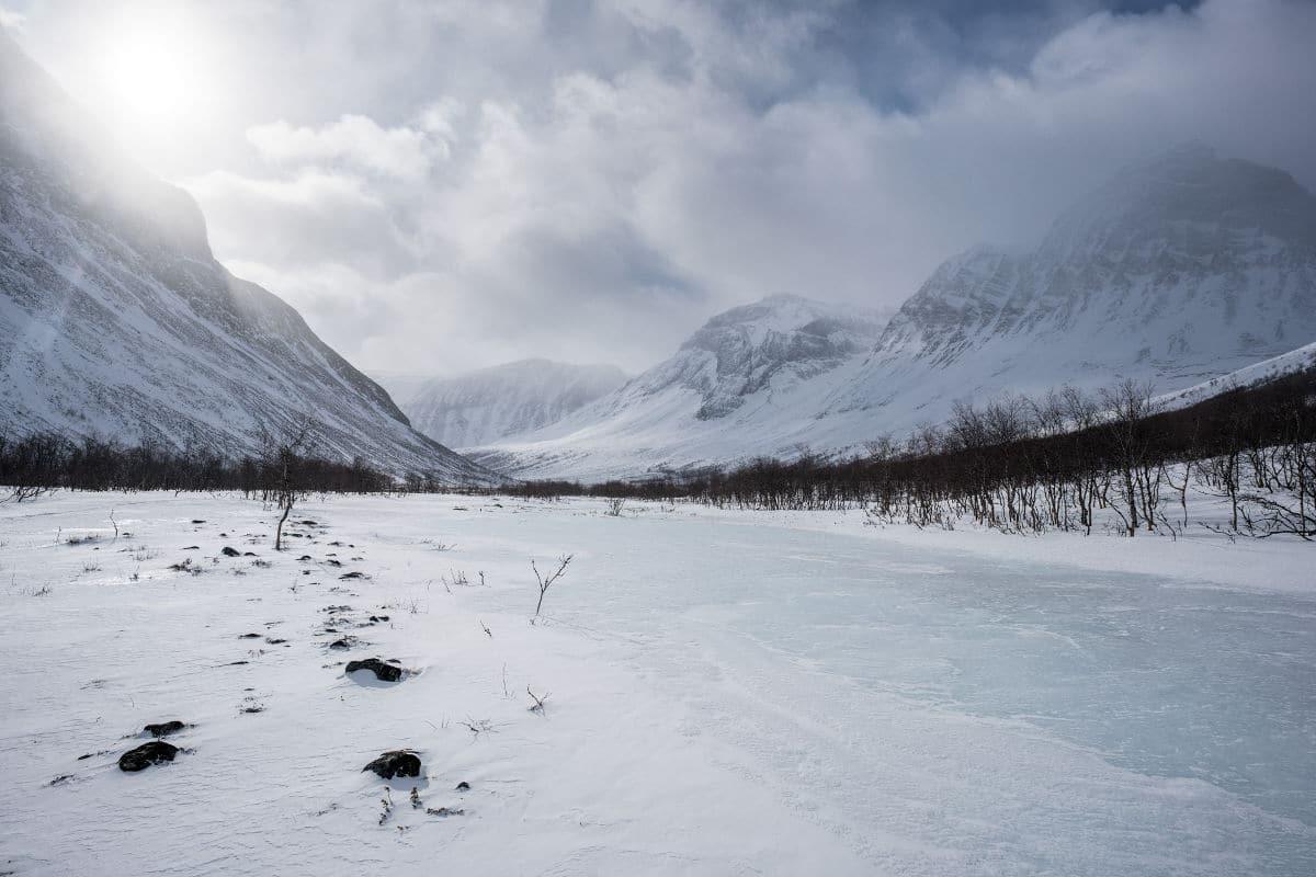 Upper Visttasvággi - Winter