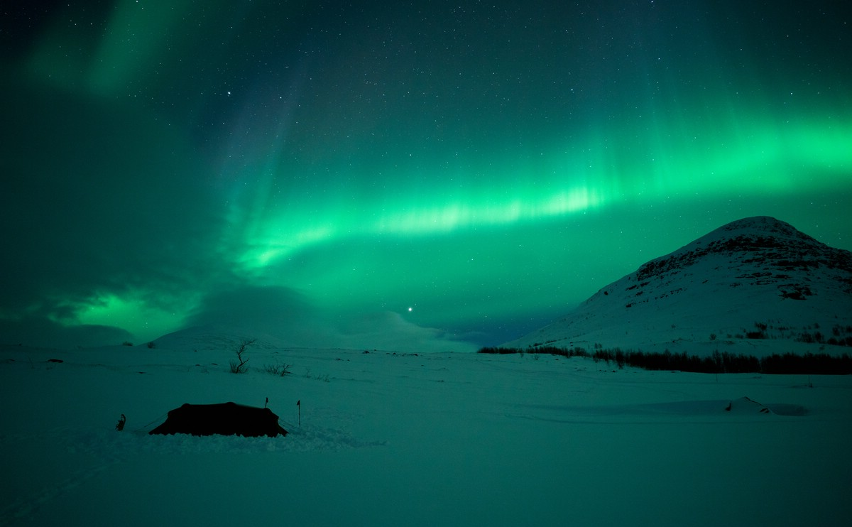 Aurora near Abiskojaure I