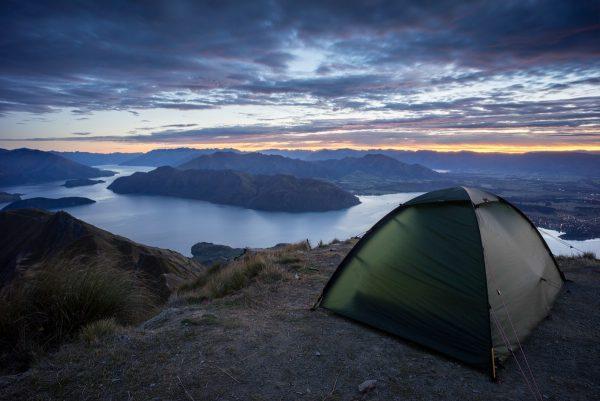 Camping at Roys Peak