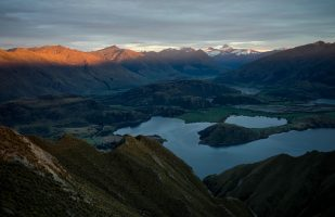 Mount Aspiring - First Light