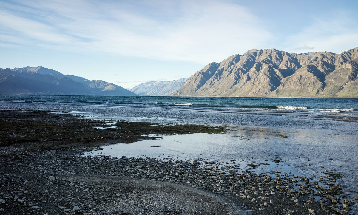 Lake Hawea near Wanaka