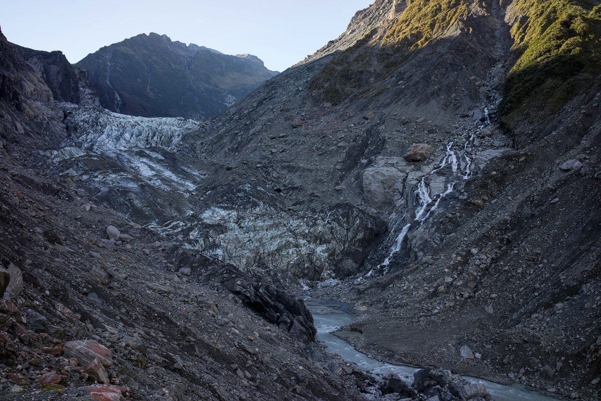 Fox Glacier from the view point