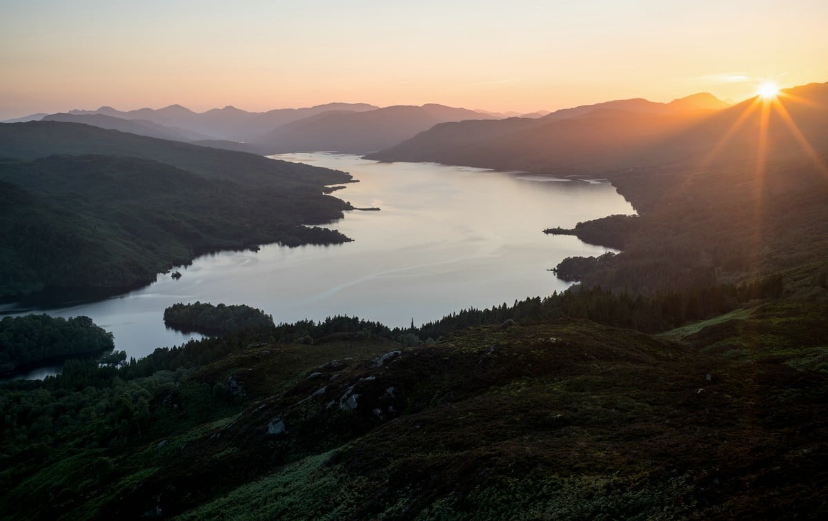 Loch Katrine from Ben A'an (Trossachs)