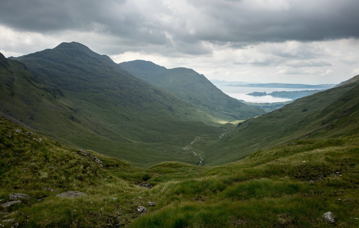 View towards Inverie Bay (Knoydart)