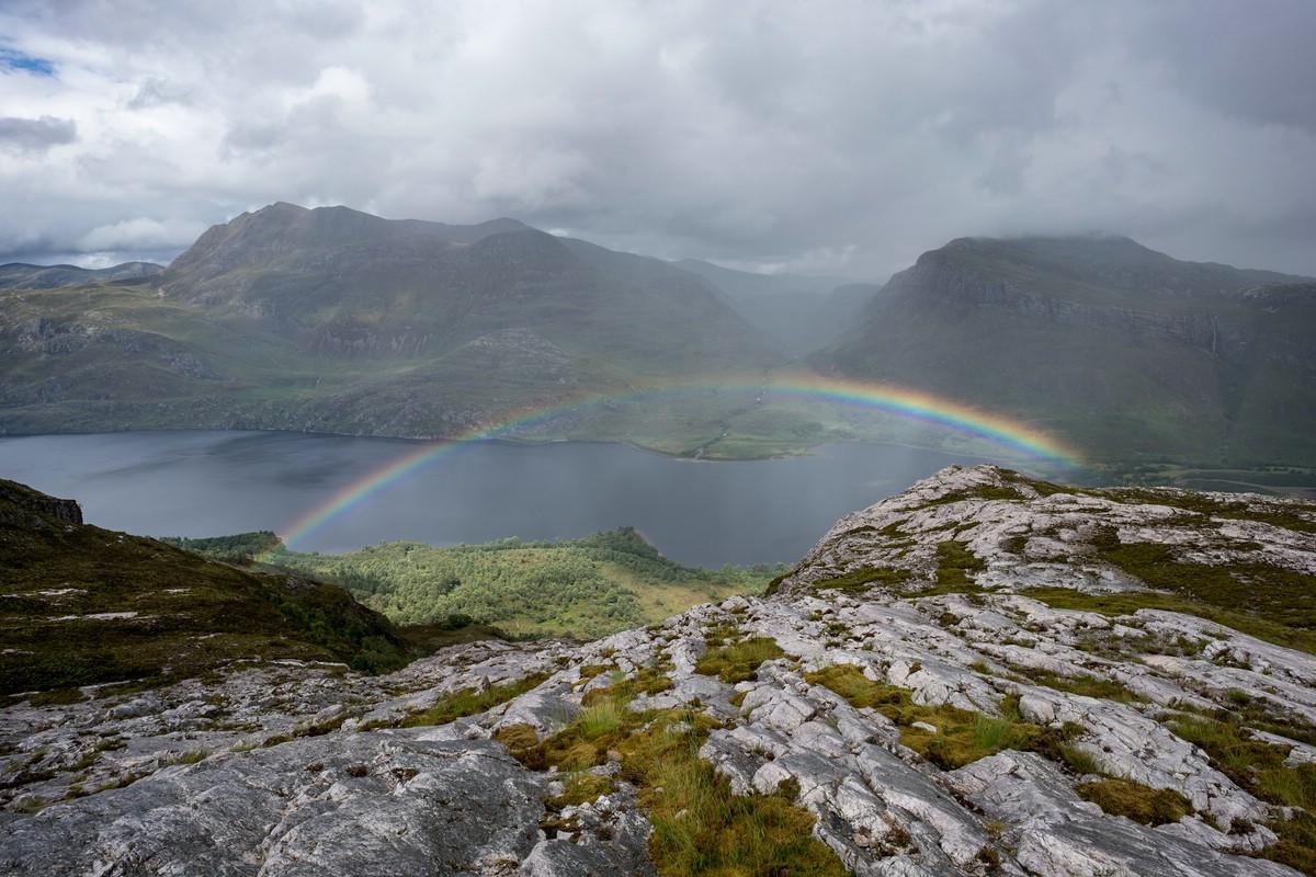 Rainbow over Loch Maree