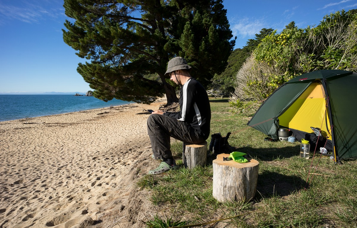 Off-Season Camping in Abel Tasman
