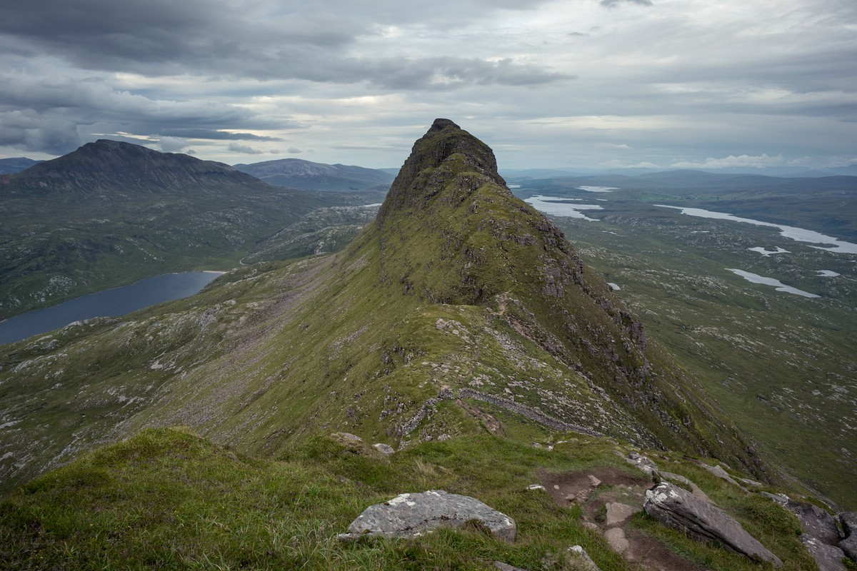 On the ridge of Suilven