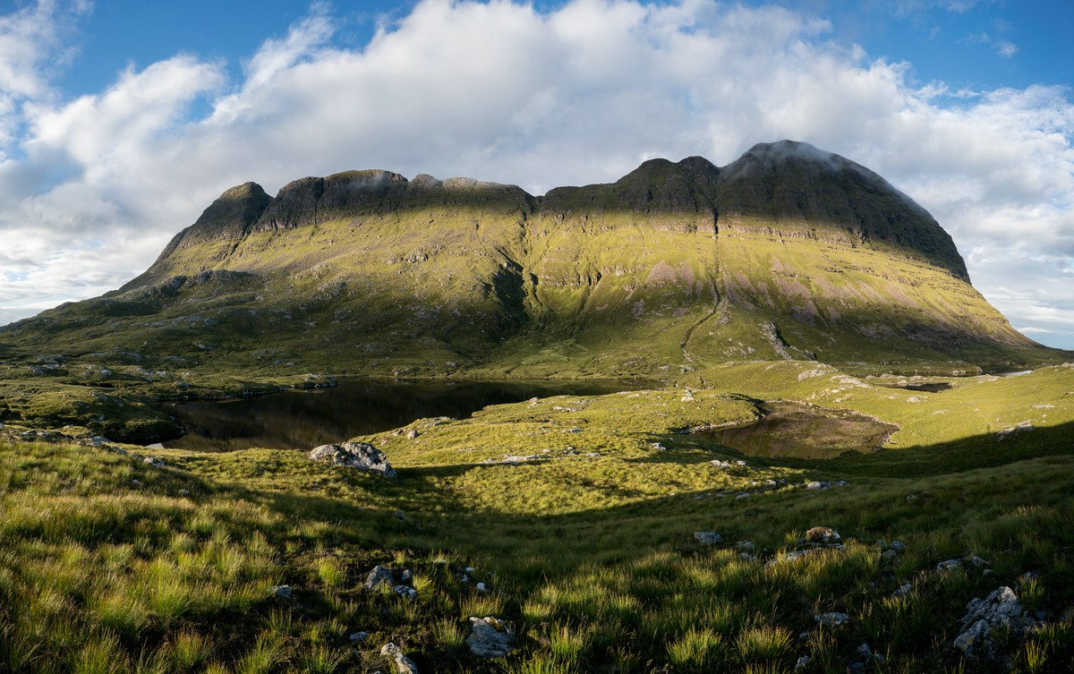 Panorama of Suilven