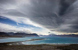 Storm at Lake Tekapo