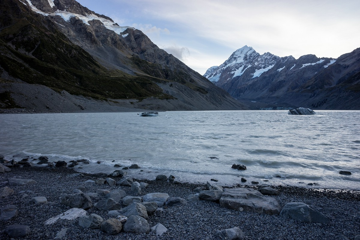 Mt. Cook from Hooker Lake