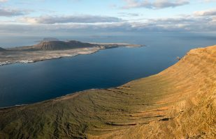 La Graciosa from above