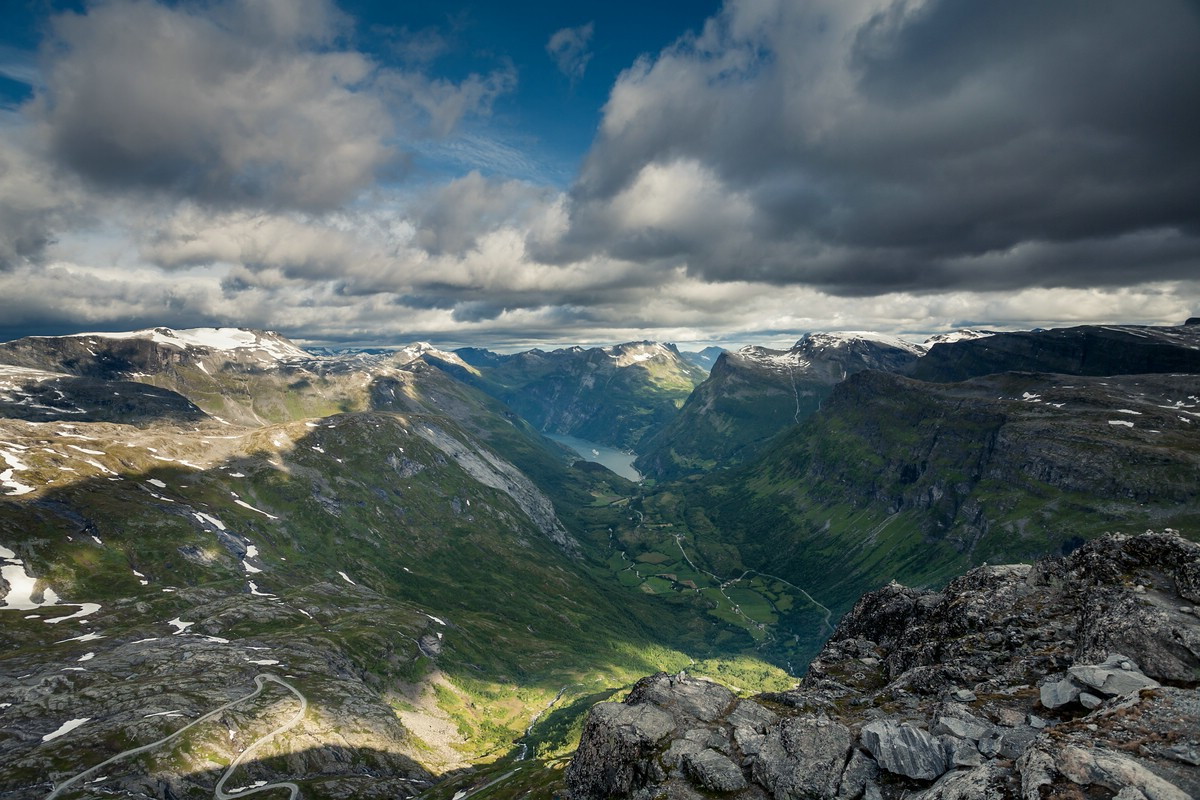 Geiranger from Dalsnibba