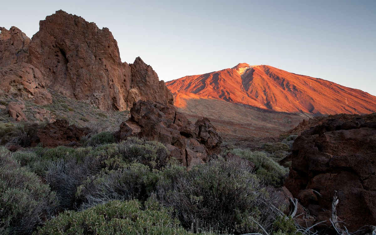 Teide in First Light